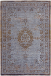 Tapis Reloaded chenille gris brun 60X90. MA Salgueiro.