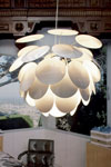Discoco Suspension GM 88cm blanc. Marset.