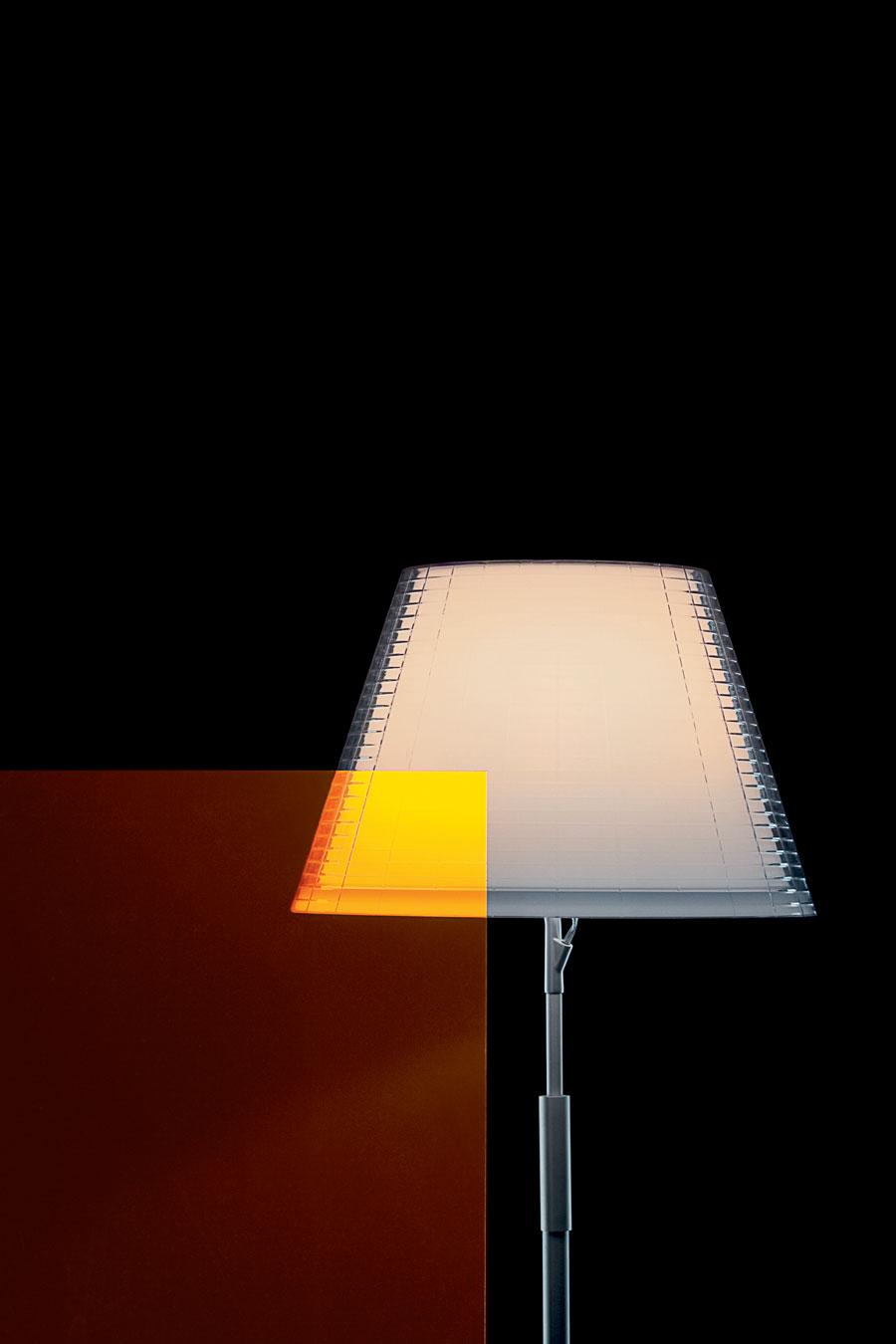 Nolita lampadaire transparent. Marset.