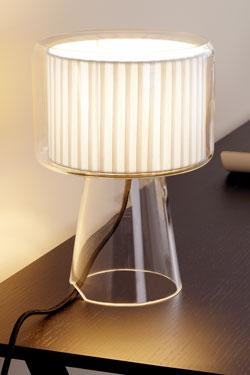Mercer lampe ruban beige Mini. Marset.