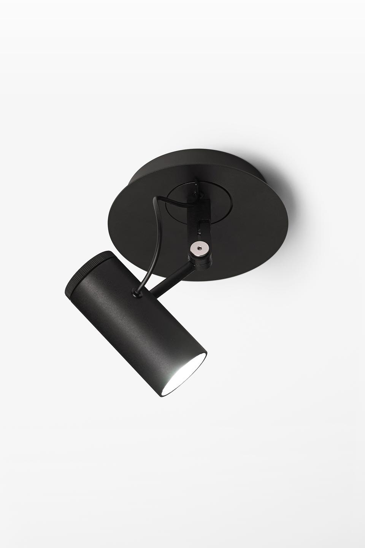 spot noir encastrable clairage led diffuseur orientable polo r f 17020343. Black Bedroom Furniture Sets. Home Design Ideas
