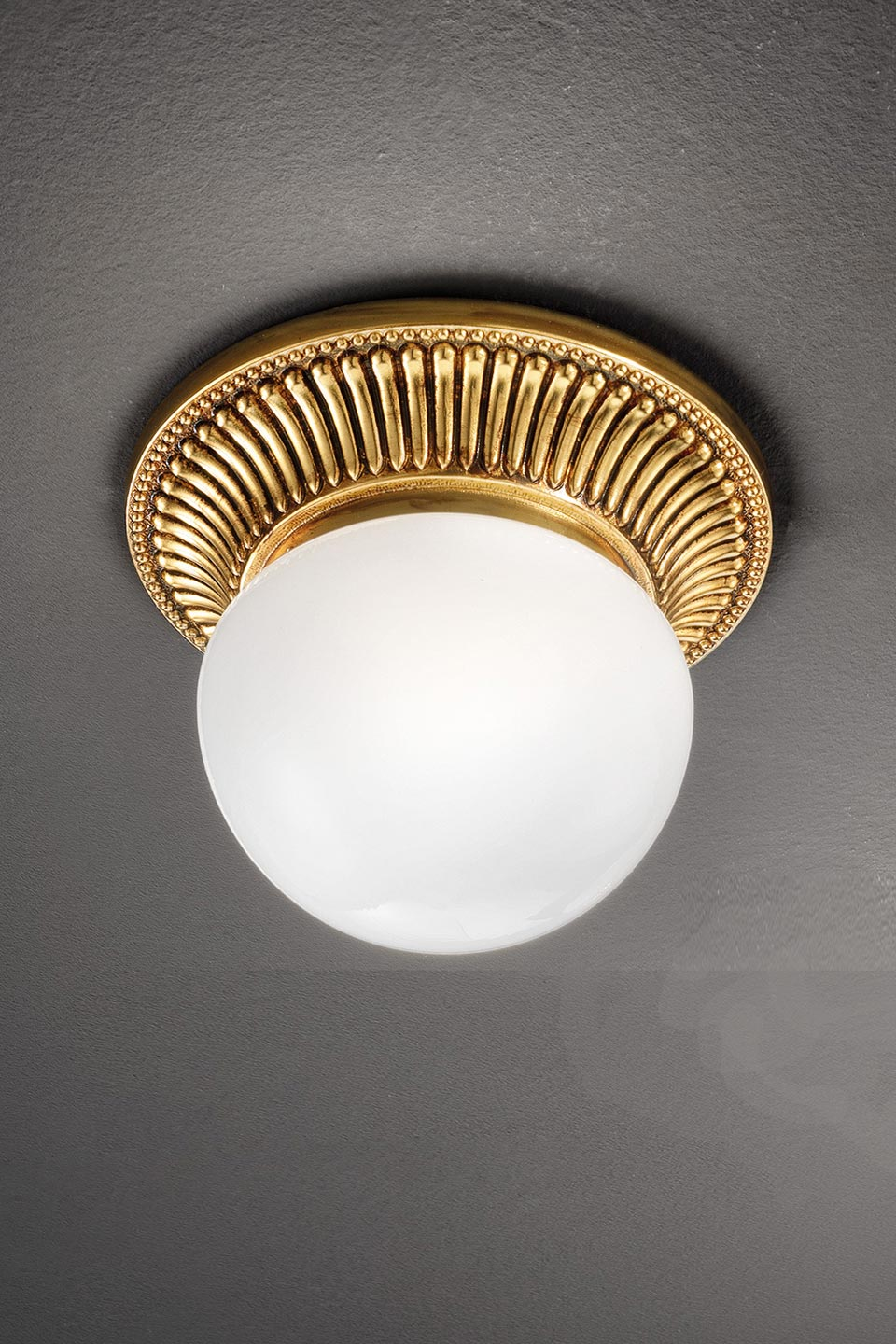 Small Round Gold Ceiling Light Masiero Murano And Crystal Chandeliers Lamps And Wall Lights Ref 20020115