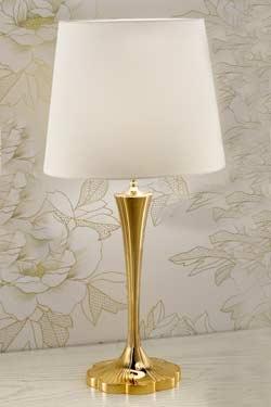 grande lampe bronze dor abat jour soie blanche h75cm masiero sp cialiste du lustre en. Black Bedroom Furniture Sets. Home Design Ideas