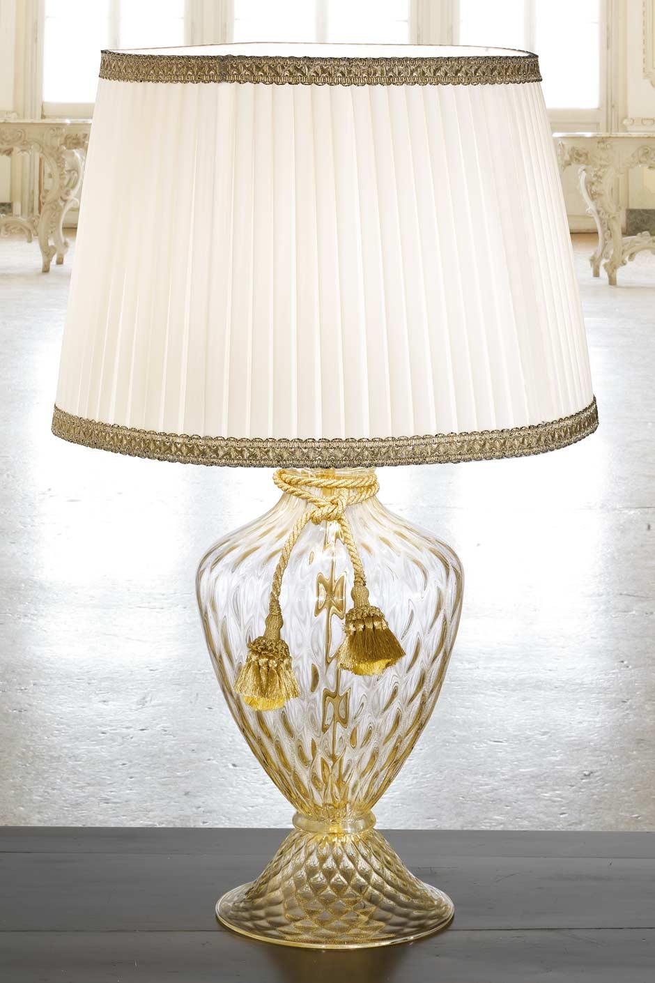 lampe a poser verre de murano