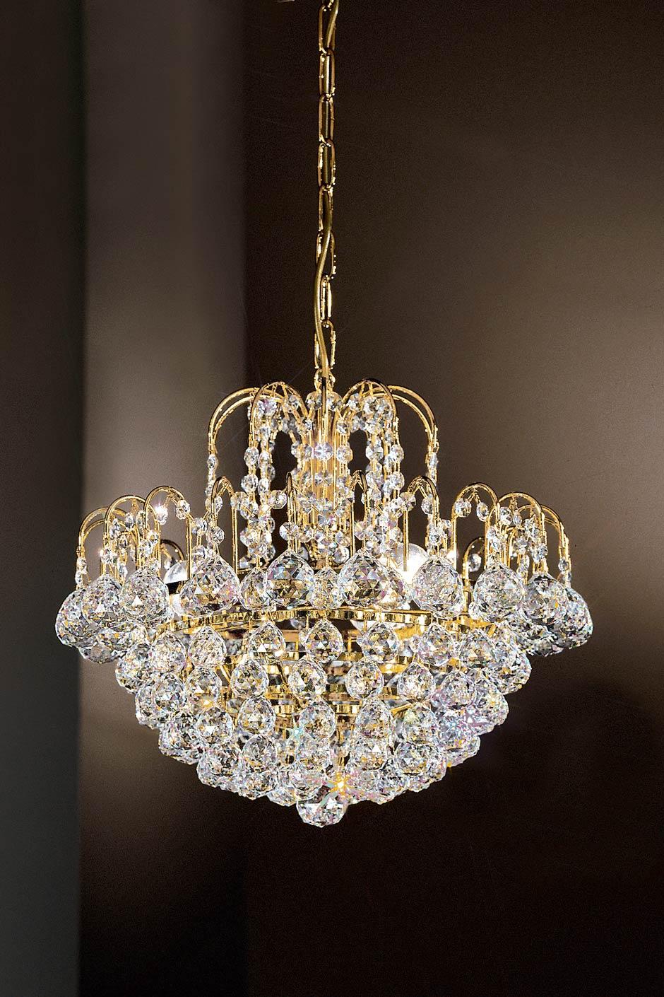 Lustre en cristal forme cascade masiero sp cialiste du lustre en cristal et de la lampe en - Produit nettoyage lustre cristal ...