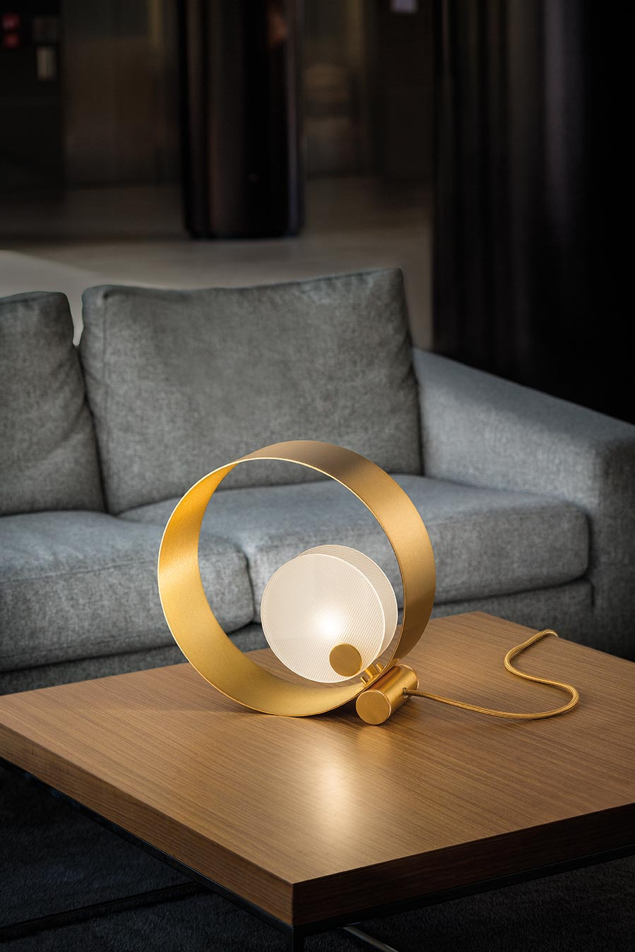 Sound Round Table Lamp Masiero Murano And Crystal Chandeliers Lamps And Wall Lights Ref 20010058