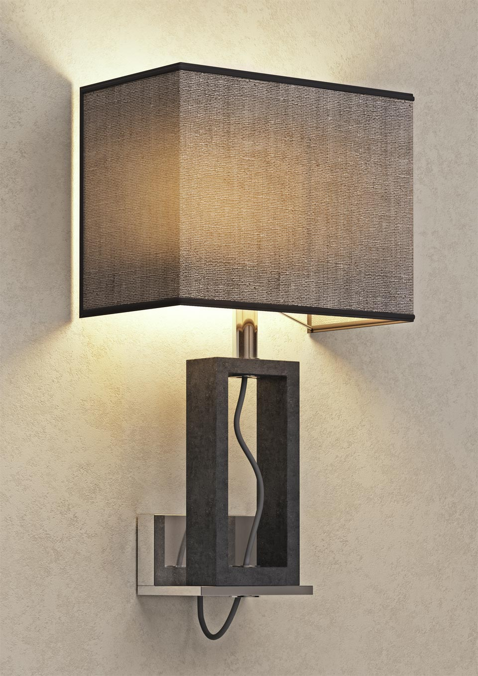 Applique en marbre Contemporary. Matlight.