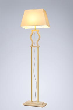 Classic marble floor lamp. Matlight.
