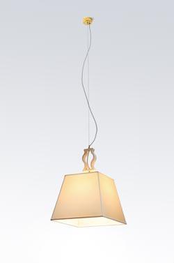 Single marble pendant. Matlight.