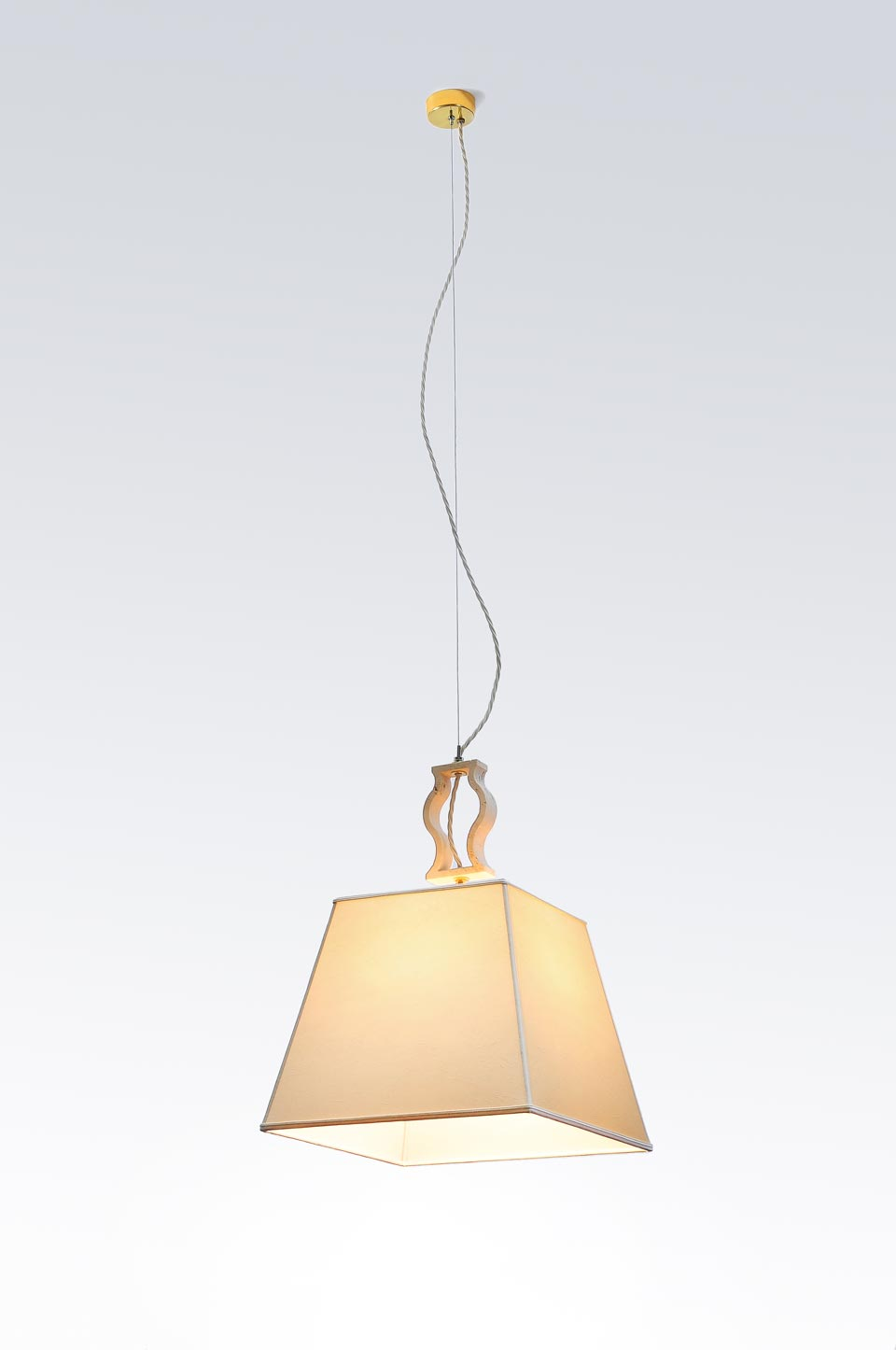 Suspension simple en marbre . Matlight.