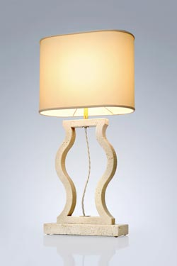 Classic marble lamp. Matlight.