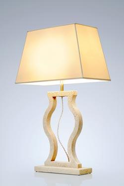 Classic medium model marble lamp. Matlight.
