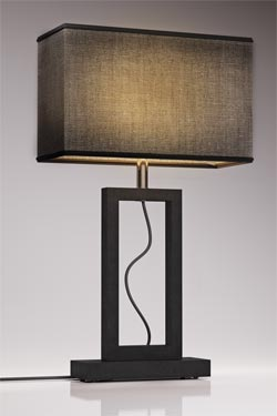 Contemporary large gray marble lamp. Matlight.