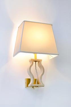 Classic marble wall lamp. Matlight.