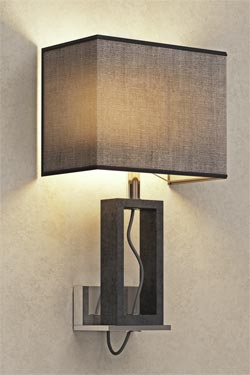 Contemporary marble wall sconce. Matlight.