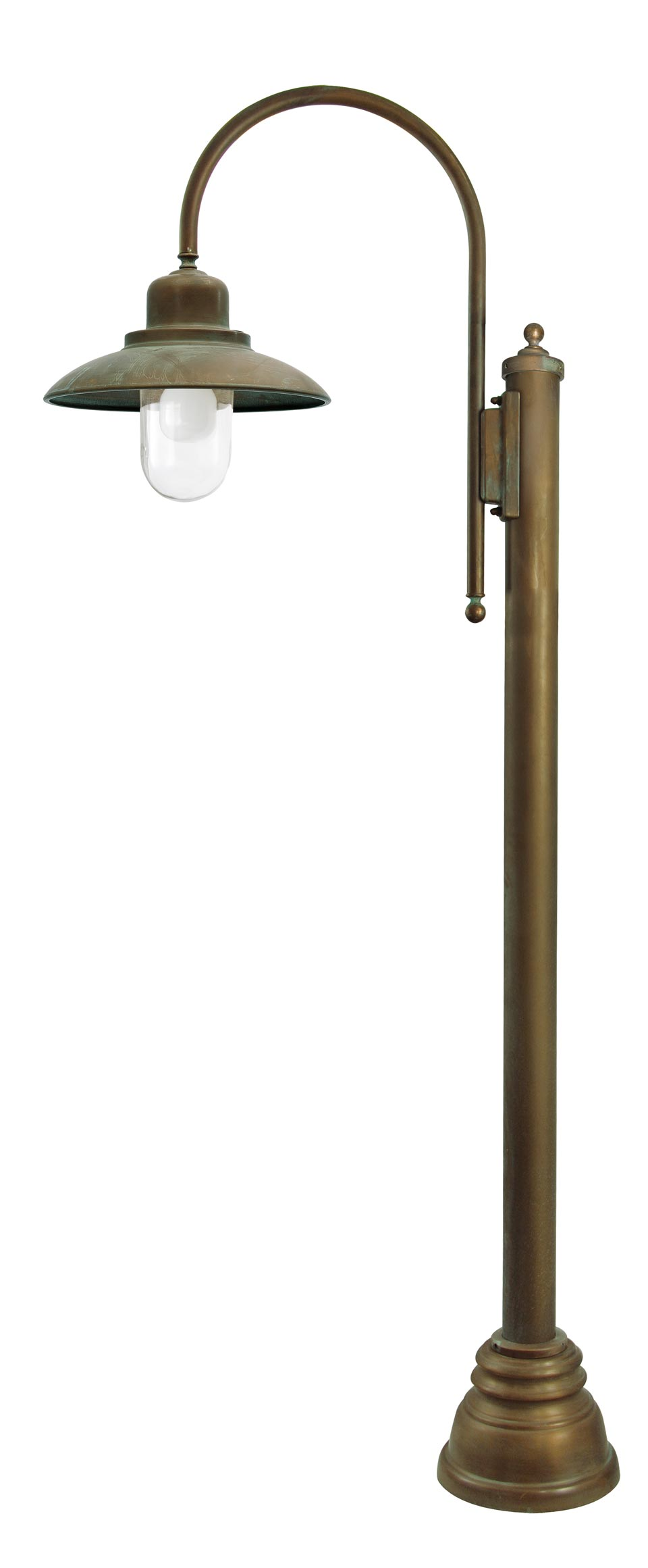 Patio Lamp Post In Aged Brass Country Style Ref 20040032
