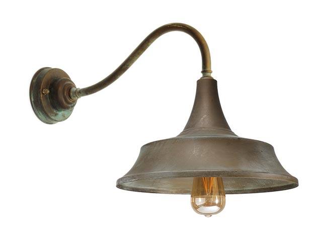 Atelier Exterior Bell Shaped Flared Sconce Ref 20040026