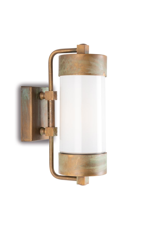 Silindar Opal Glass Lantern Wall Lamp Ref 20040007