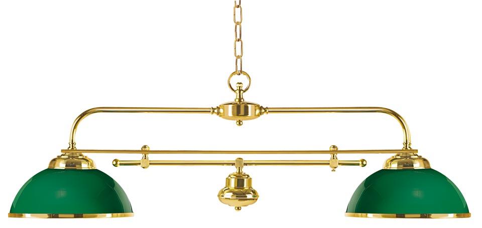 suspension billard verte en bois verni et laiton poli r f 13060267. Black Bedroom Furniture Sets. Home Design Ideas