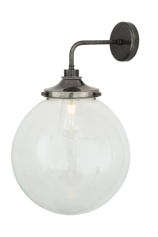 Applique IP54, ampoule LED rétro, bras 90°