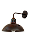 Applique d'extérieur en laiton antique style industriel. Mullan.