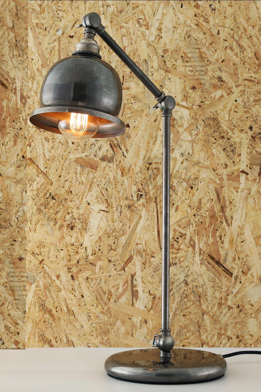 lampe a poser metal industriel