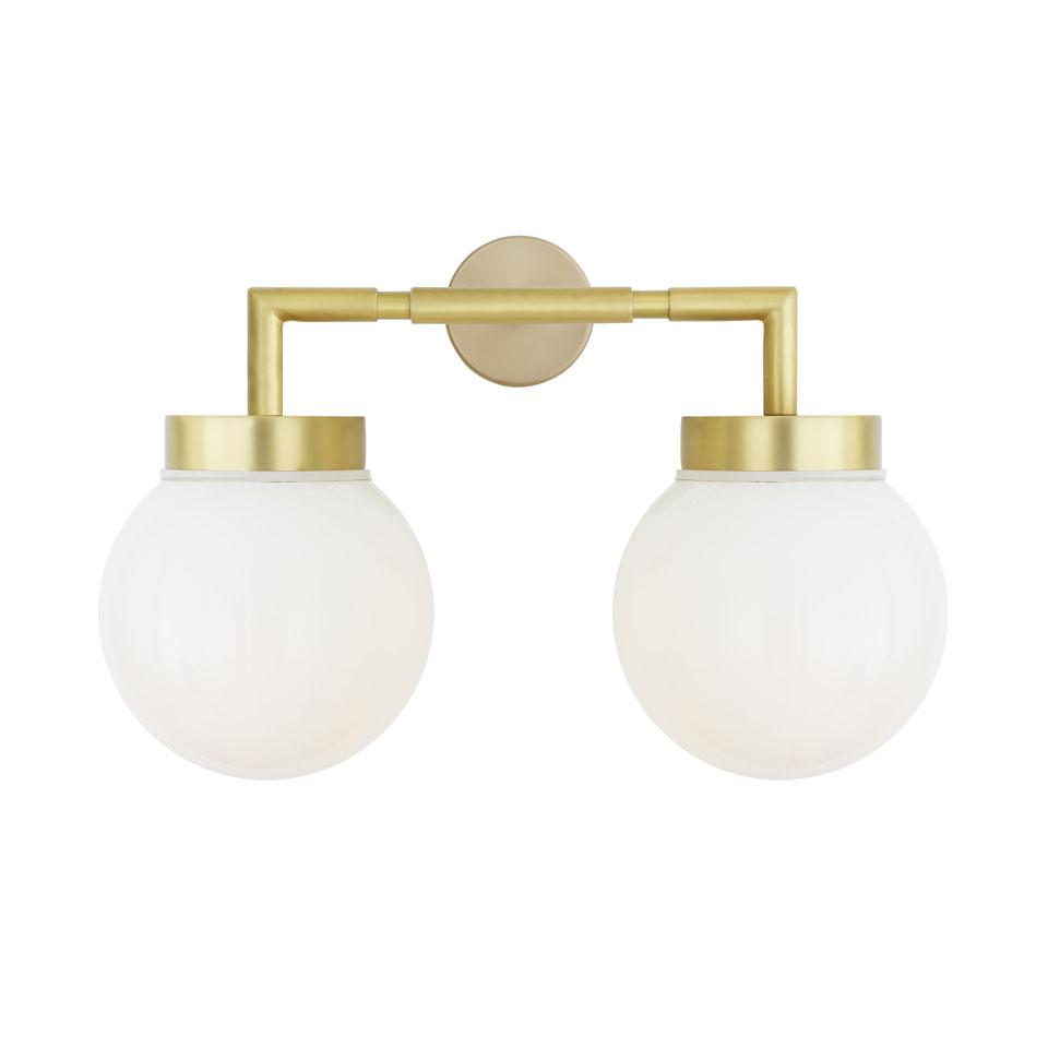 Double applique dorée Jordan | Mullan - Réf. 18090048