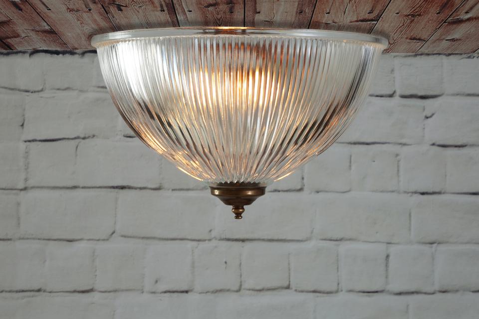 plafonnier coupole en verre cannel moroni mullan r f. Black Bedroom Furniture Sets. Home Design Ideas