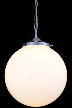 Suspension boule Yerevan 35cm. Mullan.
