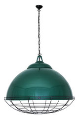 Suspension industrielle vert aqua Brussels. Mullan.