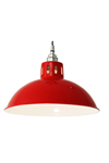 Suspension rouge style industriel Osson . Mullan.