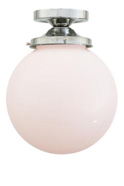yerevan boule en verre opale plafonnier mullan r f 16050058. Black Bedroom Furniture Sets. Home Design Ideas