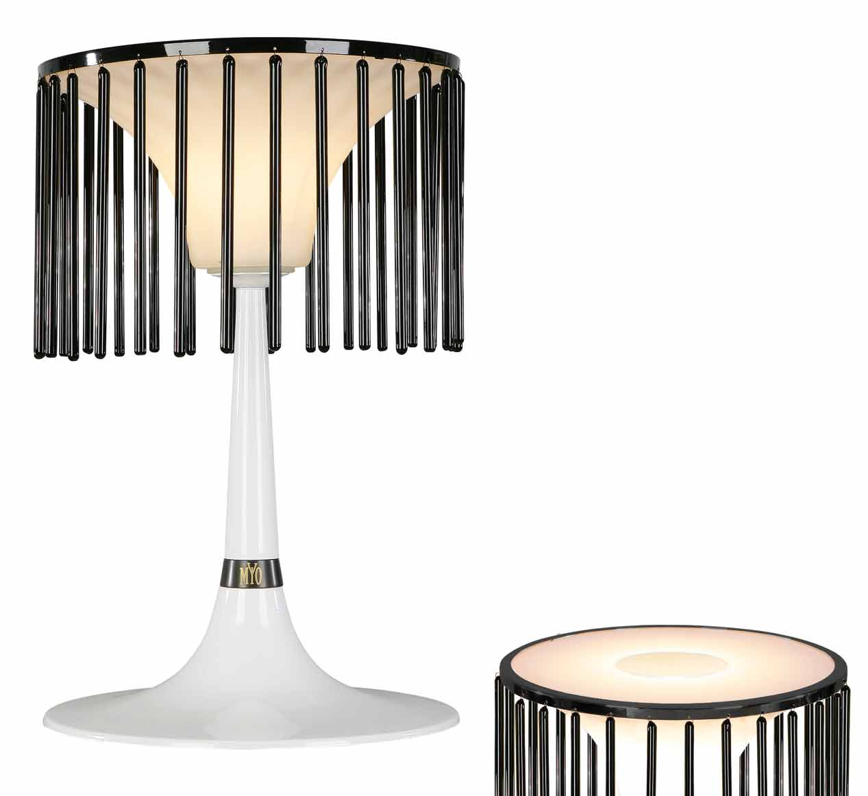 Cage lampe de table MM. Myo.