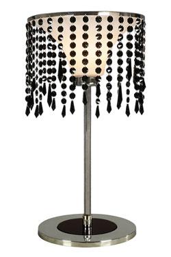 Eclectic lampe de table GM noire . Myo.