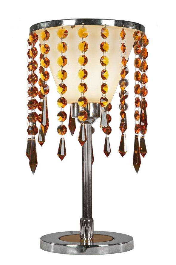 Eclectic lampe de table PM ambre . Myo.