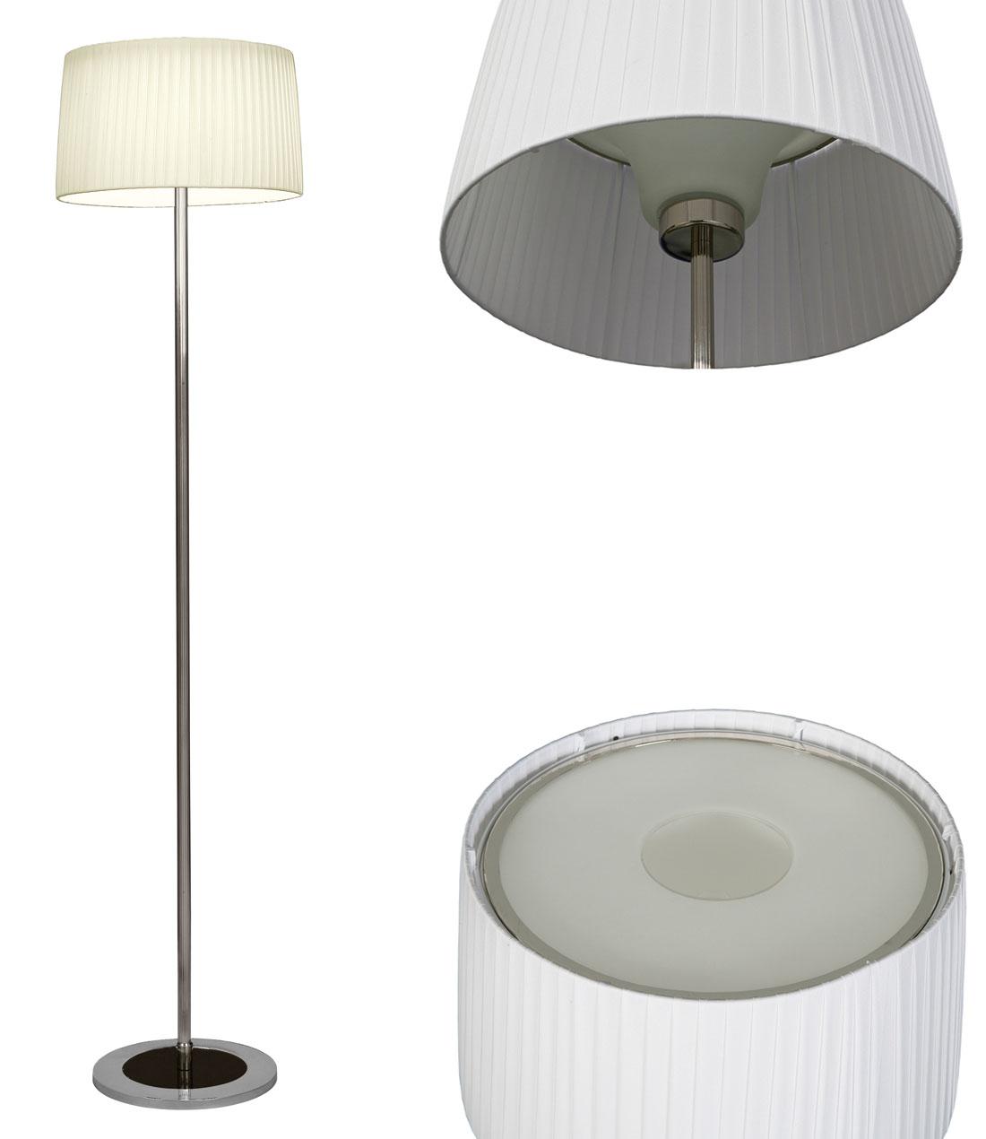 Nude lampadaire avec diffuseur et cache. Myo.