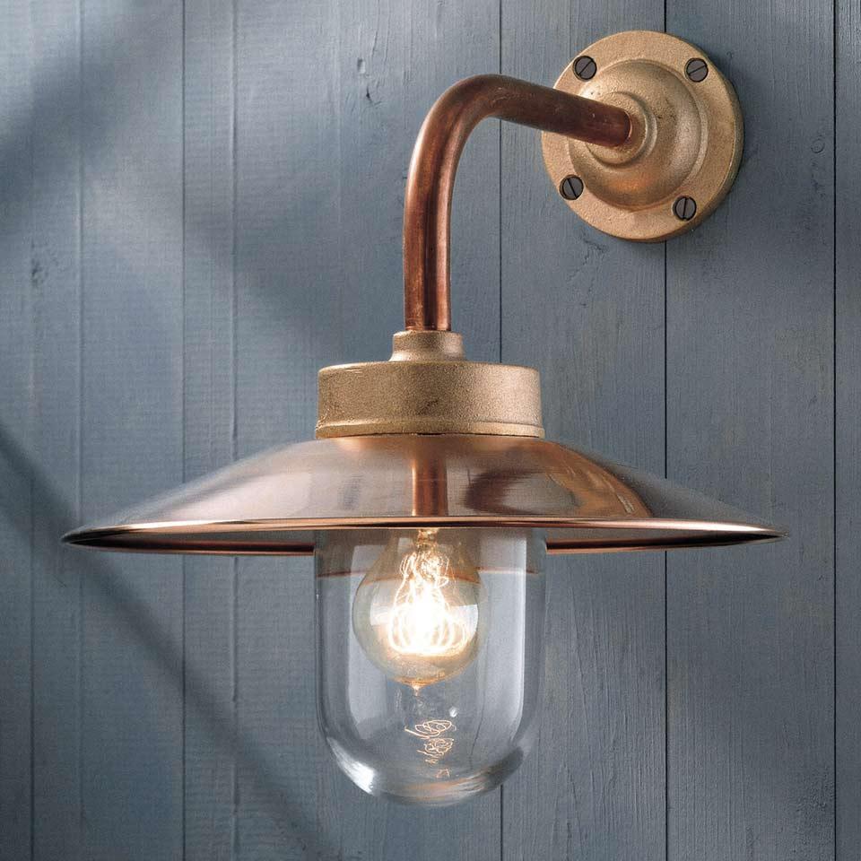 Lampe Exterieur Cuivre