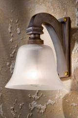 Bell Light 12 V applique bronze antique. Nautic by Tekna.