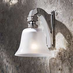 Bell Light 12 V applique bronze chromé. Nautic by Tekna.