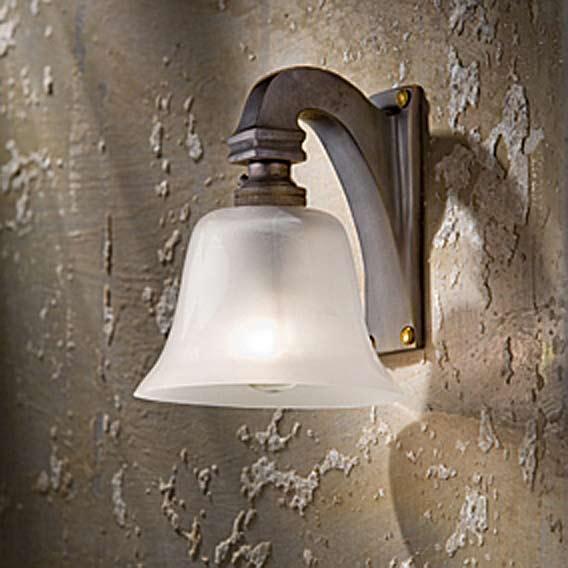 Bell Light 230V applique bronze antique. Nautic by Tekna.