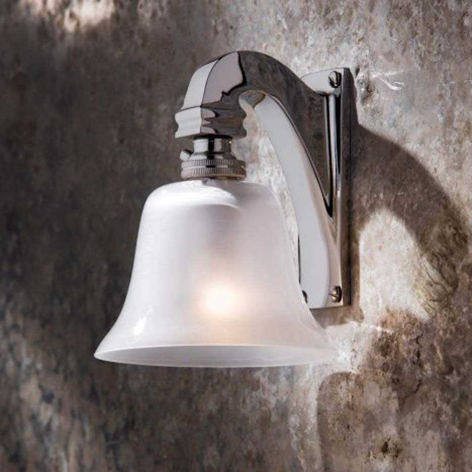 Bell Light 230V applique en bronze chromé. Nautic by Tekna.