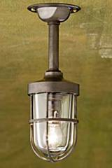 Bounty 12V antique bronze with clear glass. Nautic by Tekna.