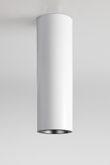 Tube ceiling lamp white tube. Nautic by Tekna.