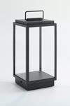 Blakes black table lantern on battery. Nautic by Tekna.