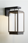 Blakes lantern table on bracket with Rivuletta glass. Nautic by Tekna.