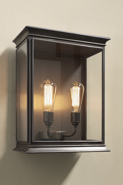 Double Antique Bronze Lantern For