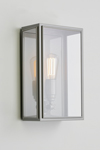 Essex gray lacquered exterior wall sconce. Nautic by Tekna.