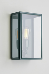 Essex green bottle lacquered outdoor wall lamp . Nautic by Tekna.