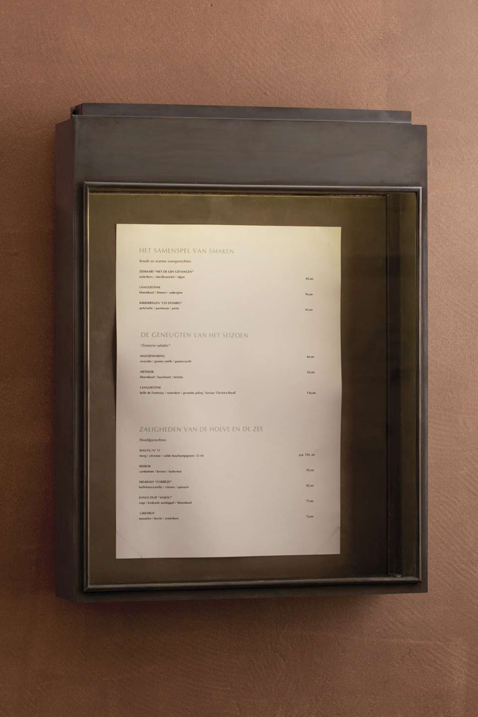 Exterior Wall Lamp Menu Holder For Restaurant Nautic By Tekna - Porte menu restaurant