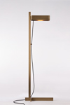 Butterfield antique bronze floor lamp with LED lighting. Nautic by Tekna.